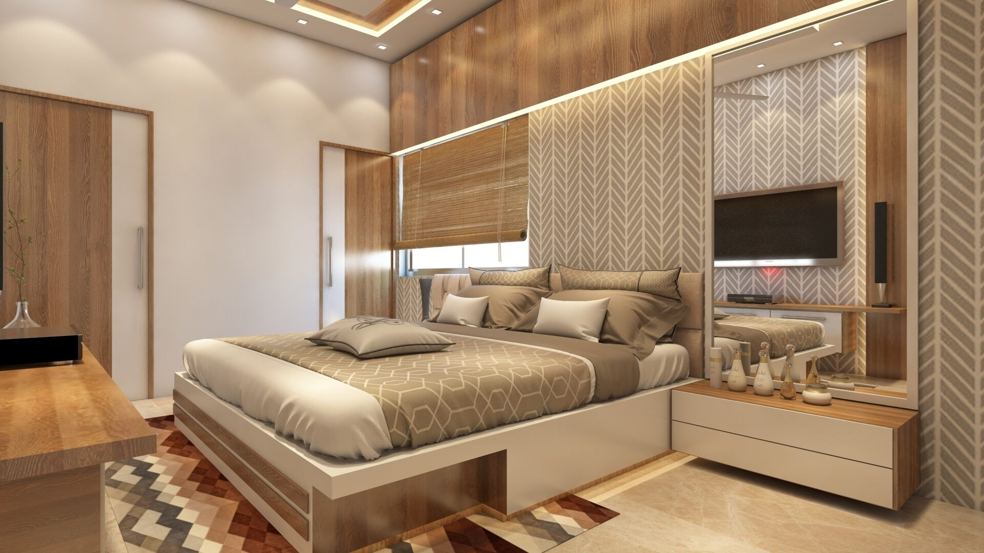 Best Bedroom Interior Design Dhanbad